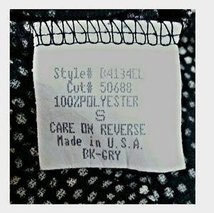 Trixxi Dresses - Trixxi Dress Gray Black Bell Sleeves Size Small